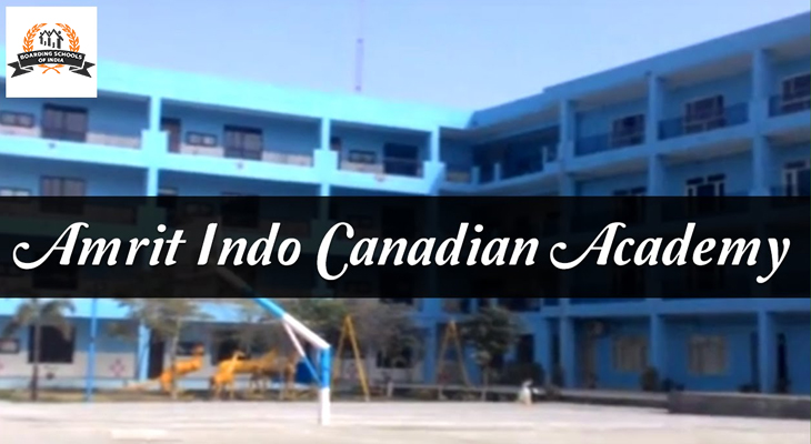 Amrit Indo Canadian Academy, Ludhiana in Boarding Schools of India