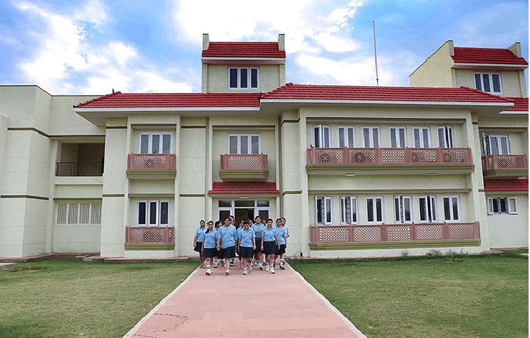MODY School Side View in Boarding Schools of India