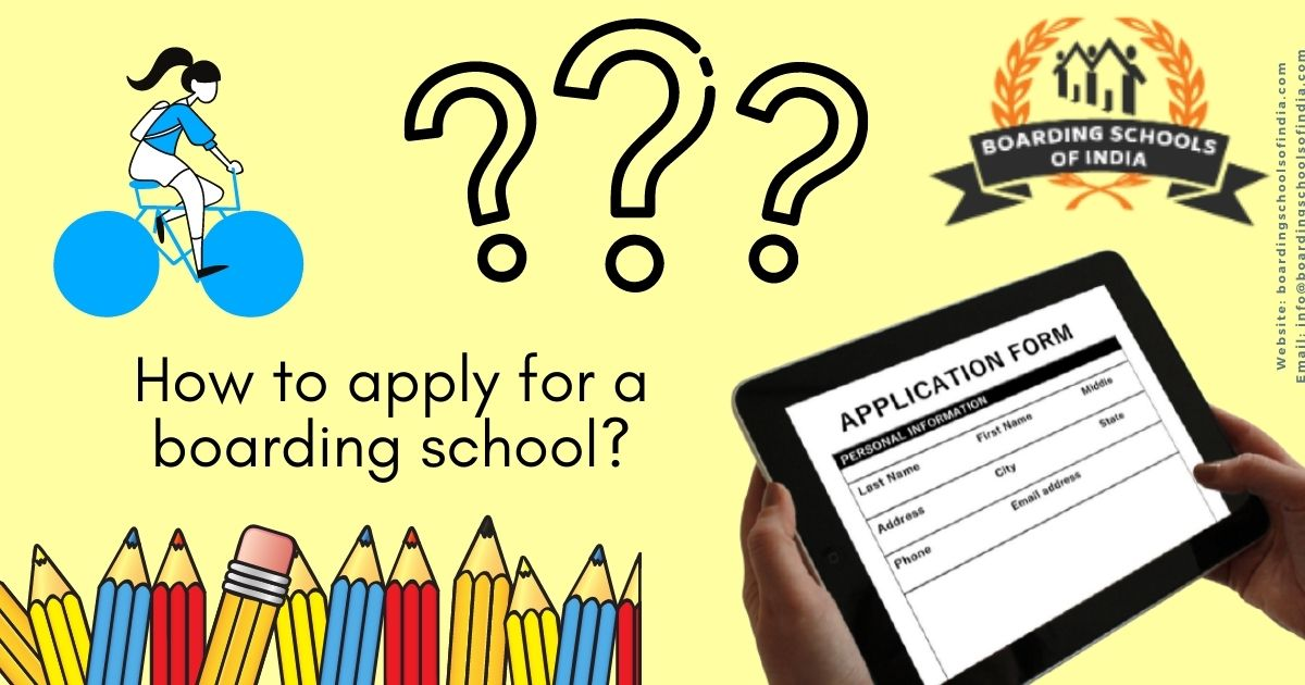How to apply for a baording school